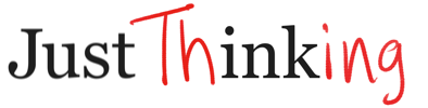 Just Thinking Book Logo