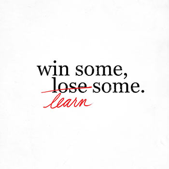 Poster: Win some, learn some